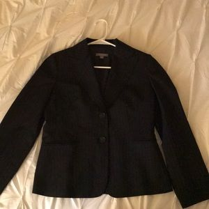 Ann Taylor Petites blazer Like New 6P Black